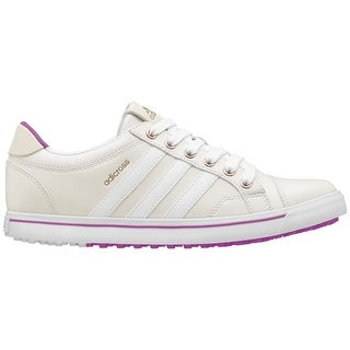 Adidas Women's Adicross IV Tour White/White/Flash Pink Golf Shoes Q47024