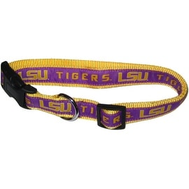 Collegiate Louisiana State Tigers Pet Collar