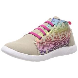 Kids Bearpaw Girls Gracie Low Top Lace Up Fashion Sneaker