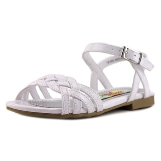 Rachel Shoes Lil Angelina 2 Open Toe Patent Leather Sandals