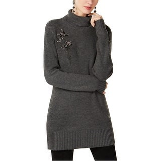 Link to I-N-C Womens Brooch Pullover Sweater Similar Items in Women's Sunglasses