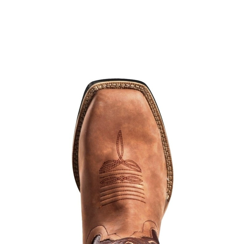 938c41accd9 Cinch Work Boots Mens WRX Leather Rubber Sole Tan Brown