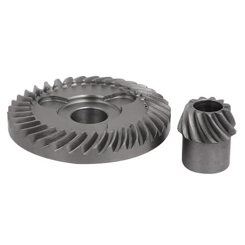 Replacement Metal Electric Angle Grinder Spiral Bevel Gear Set for DW100/803