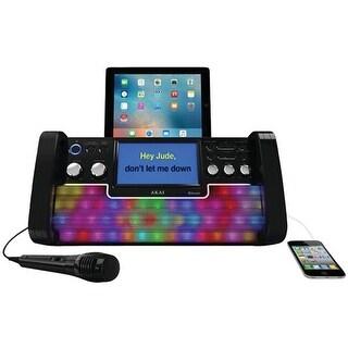 Akai KS780-BT CD Plus G Bluetooth Karaoke System, Black
