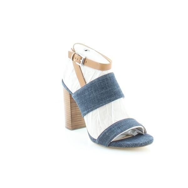 Michael Kors Arden Sandal Women's Heels Indigo/ Acorn - 10