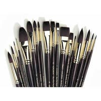 Winsor & Newton - Galeria Brush - Round- Long Handle - 6