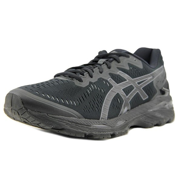 Asics Gel-Kayano 23 Men  Round Toe Synthetic Black Running Shoe