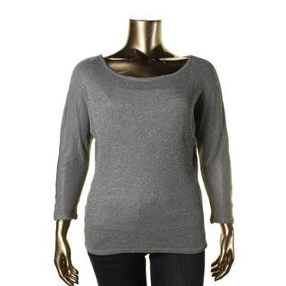 Michael Stars Womens Metallic Off The Shoulder Pullover Top - o/s