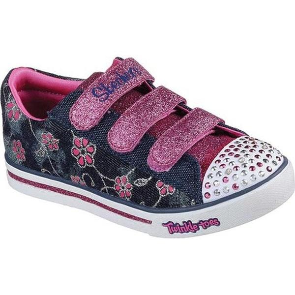e1e82db5a6 Shop Skechers Girls' Twinkle Toes Sparkle Glitz Denim Daisy Sneaker ...