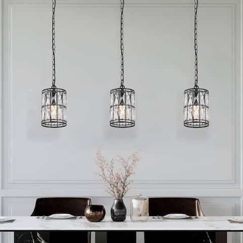 "Cirstal Modern Glam Crystal 1-light Island Pendant Lights for Living/ Dining Room - D5.5""xH10"""