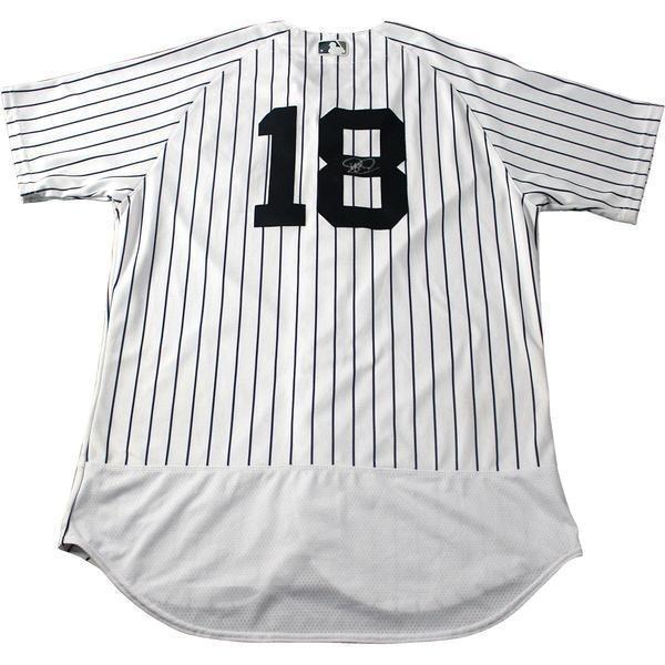 reputable site 1f802 e8c75 Didi Gregorius New York Yankees Authentic Flex Base Pinstripe Jersey