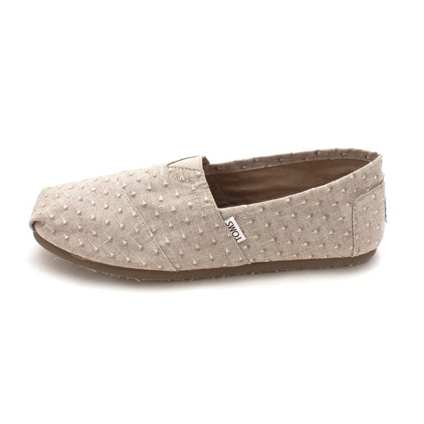 TOMS Mens Classic Fabric Closed Toe Slip On Shoes