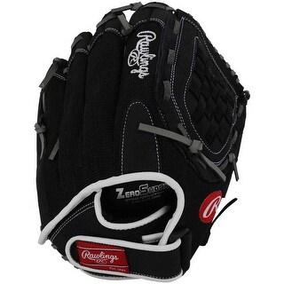 """Rawlings R125BGB 12.5"""" Renegade Baseball/Softball Glove Mitt Black. R125BGB"""