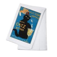 Catz Bitters c. 1940 - Vintage Advertisement (100% Cotton Towel Absorbent)
