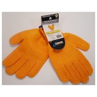 Unisex-Adult Honeycomb Lobster Gloves M Orange
