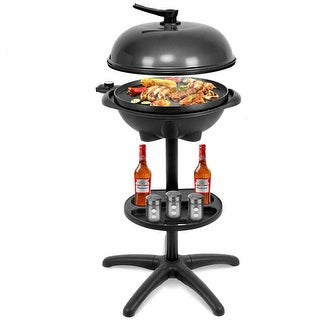 Link to Costway Electric BBQ Grill 1350W Non-stick 4 Temperature Setting Similar Items in Kitchen Appliances
