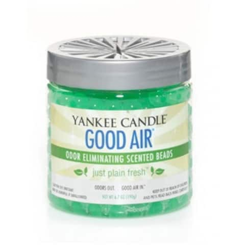 Yankeen Candle 1255464 Good Air Odor Eliminate Scented Beads, Cool Morning Dew