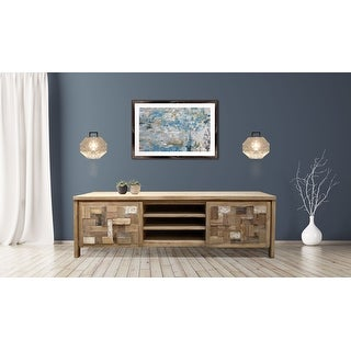 Link to Chic Teak Recycled Teak Wood Mozaik Media Center, 2 Door Similar Items in Media Cabinets