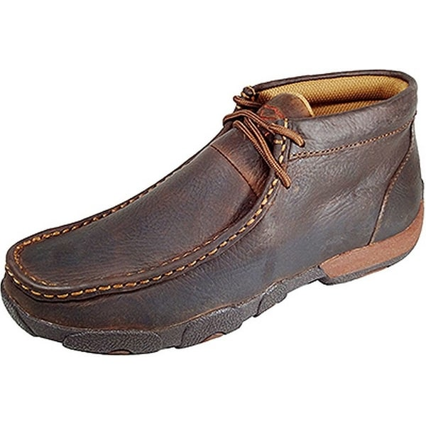 Twisted X Casual Shoes Womens Leather Driving Moccasin Copper