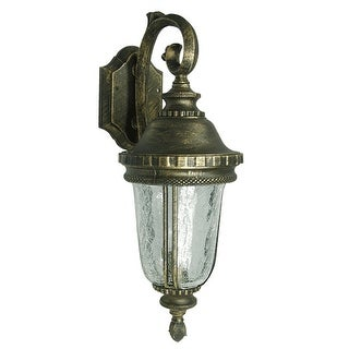 eTopLighting Brushed Bronze Finish Exterior Light Fixture - Wall Lantern, OS0003