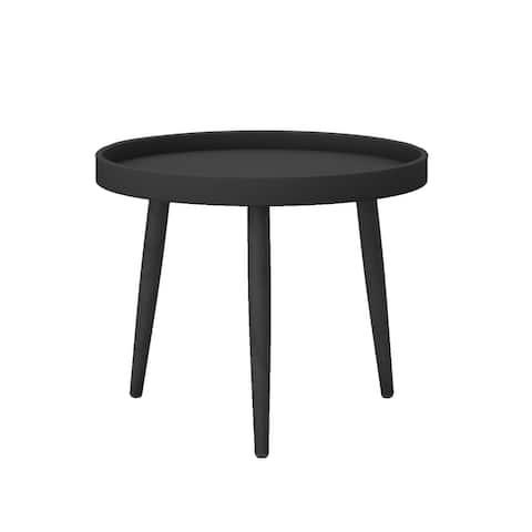 Jamesdar Kurv Chat Table in Black