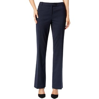 Calvin Klein Womens Straight Leg Pants Modern Fit Casual