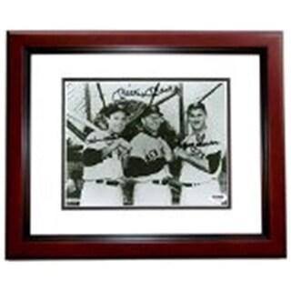 Mickey Mantle, Hank Bauer, And Moose Skowron Autographed