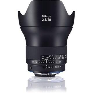 Zeiss Milvus 18mm f/2.8 ZF.2 Lens for Nikon F - Black
