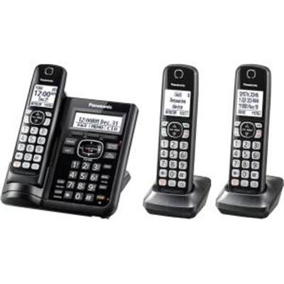Panasonic Consumer - Kx-Tgf543b - Three Handset Telephone