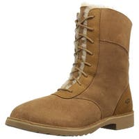 Ugg Womens Daney Suede Round Toe Mid-Calf Cold Weather Boots
