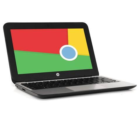 HP Chromebook 11 G4 Intel Celeron Dual-Core 4GB RAM 16GB SSD V2W30UT Grade B