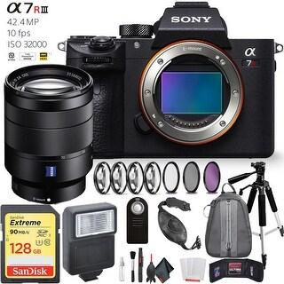 Sony Alpha a7R III Mirrorless Digital Camera Sony 24-70mm Lens Deluxe Kit