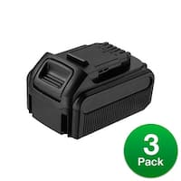 Battery for DEWALT DCB205 (3-Pack) Replacement Battery