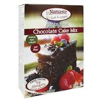 Namaste Foods Chocolate Cake - Mix - Case of 6 - 26 oz.