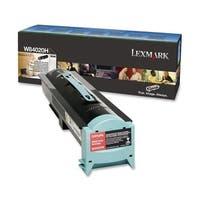 Lexmark W84020H Lexmark Black Toner Cartridge - Black - Laser - 30000 Page - 1 Each