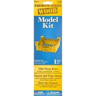 "Wood Model Kit-Fort 5.375""X2.375"" - fort 5.375""x2.375"""