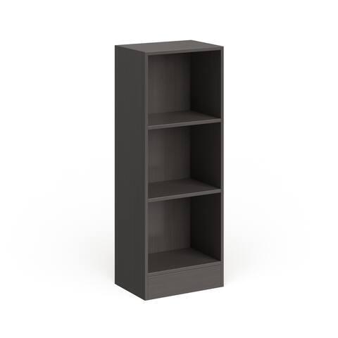 Porch & Den Alethea Short Narrow 3-shelf Bookcase