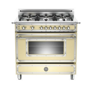 Bertazzoni HER366GAS 36 Inch Wide 4.4 Cu. Ft. Free Standing Gas Range with Soft