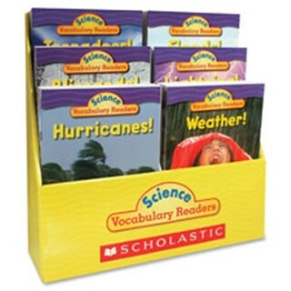 Scholastic Teaching Resources Gr1-2 Vocabulary Readers Weather Books