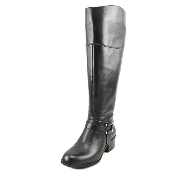 Alfani Biliee Wide Calf Women Black Boots