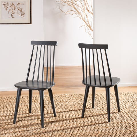 """Safavieh Burris Spindle Back Side Chair (Set of 2) - 17.3"""" x 20.7"""" x 36"""""""