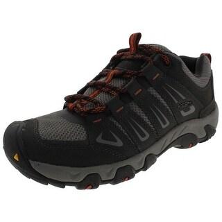 Keen Oakridge Hiking, Trail Shoes Leather Mesh - 9.5 medium (d)