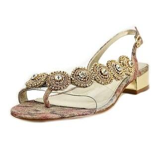 Adrianna Papell Daisy   Open-Toe Synthetic  Slingback Sandal