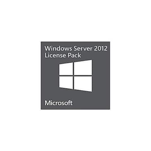 Microsoft Windows Remote Desktop Services License 0C19610 Microsoft Windows Server 2012 Remote Desktop Services