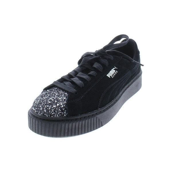 Shop Puma Womens Crushed Gem Casual Shoes Suede Glitter - Free ... 2c2a221df