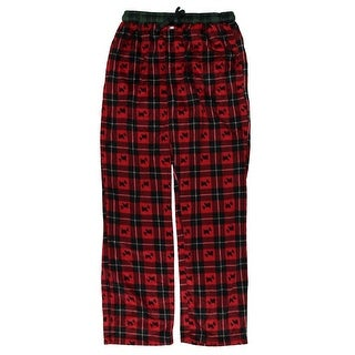 Tommy Hilfiger Mens Fleece Plaids & Checks Lounge Pants