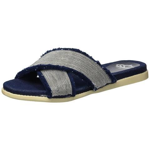 Fergalicious Womens zena Open Toe Casual Slide Sandals