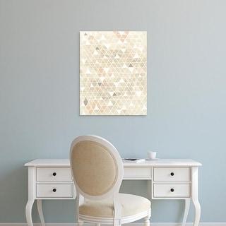 Easy Art Prints June Erica Vess's 'Pattern Intersect II' Premium Canvas Art