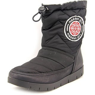 Madden Girl Icicle Women Round Toe Canvas Winter Boot