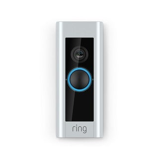 Ring - Video Doorbell Pro - Satin Nickel - Satin Nickel